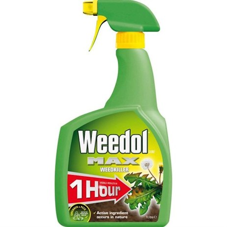 Weedol Gun! Fast Acting Ready-To-Use Weedkiller 1L (015001)
