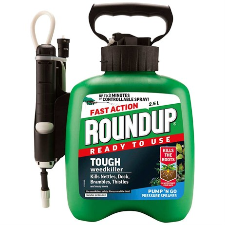 Roundup XL Tough and Deep Root Weedkiller 2.5L (015031)