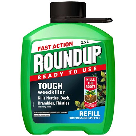 Roundup XL Tough and Deep Root Weedkiller Refill 2.5L (015032)