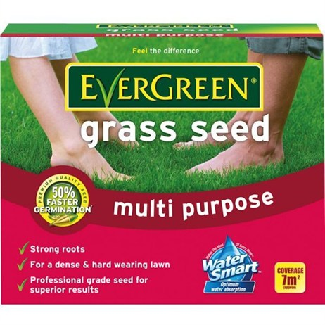 EverGreen Multi Purpose Grass Seed 7m2 210g (017401)