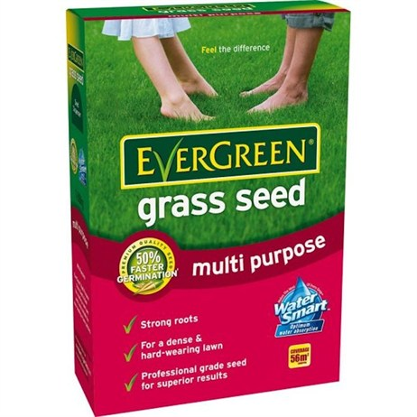 EverGreen Multi Purpose Grass Seed 56m2 1.7kg (017402)