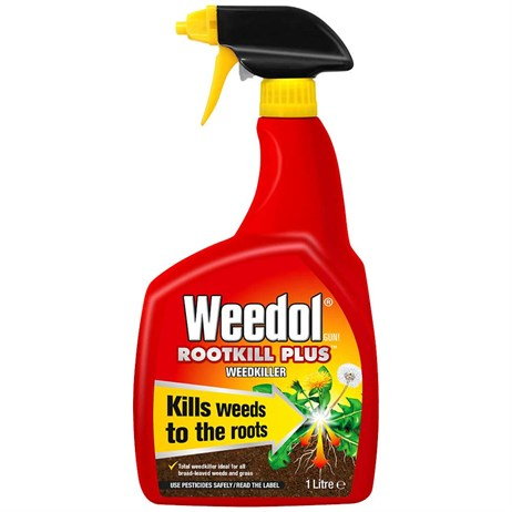 Weedol Gun! Rootkill Plus Ready-To-Use Weedkiller 1L (017826)