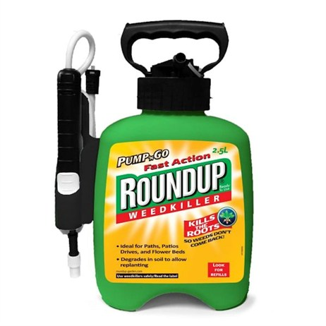 Fast Action Roundup Pump 'n Go Ready to Use Weedkiller 2.5L (017957)