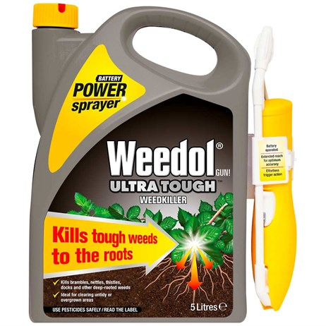 Weedol Gun! Ultra Tough Weedkiller Power Spray 5L (018166)