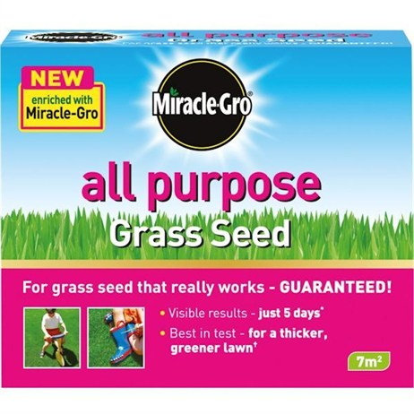 Miracle-Gro All Purpose Grass Seed 7m2 210g (018957)