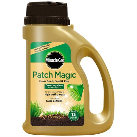 Miracle-Gro Patch Magic Grass Seed, Feed and Coir Jug 1.015kg (019009)