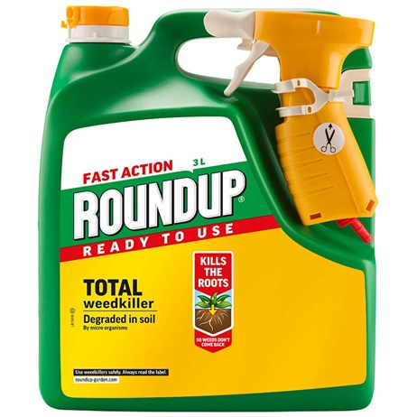 Fast Action Roundup Ready to Use Weedkiller 3L (019017)