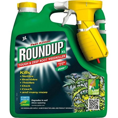 Roundup XL Tough and Deep Root Ready-To-Use Weedkiller 3L (019019)