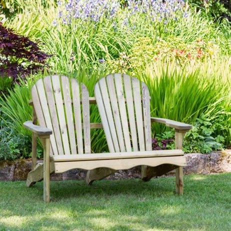 Zest 4 Leisure Lily Relax 2 Seater Bench (DIRECT DISPATCH)