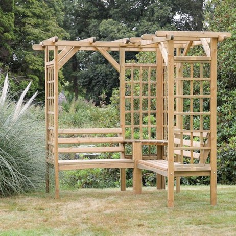 Zest 4 Leisure Winchester Pergola Seat (DIRECT DISPATCH)