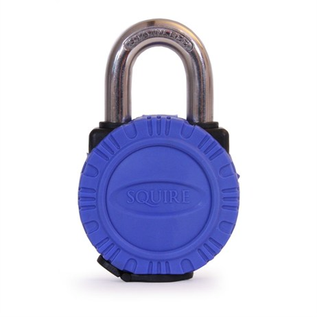 Squire 50mm Stainless Steel Open Shackle Padlock with Protective Cover (ATL5S)