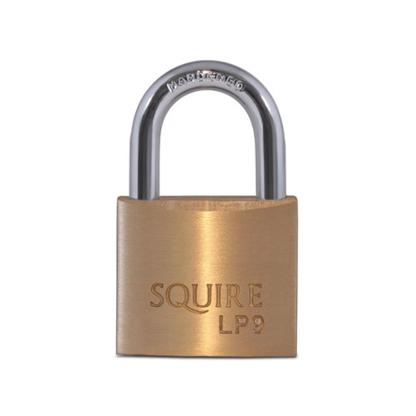 Squire 40mm Leopard Hardened Steel Solid Brass Padlock (LP9)