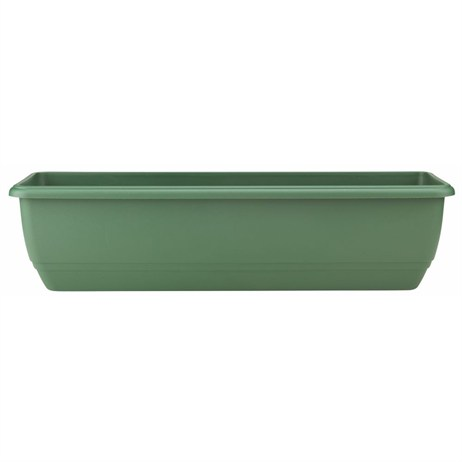 Stewart Garden Balconnière Trough - 70cm - Green (2136019)