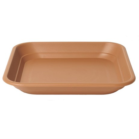 Stewart Garden Balconnière Square Tray - To Fit 30cm Balconnière Pot - Terracotta (2144034)