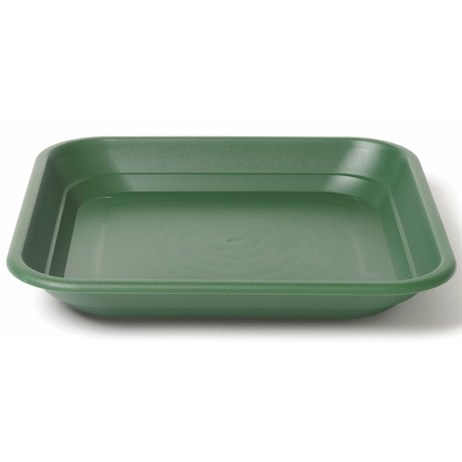 Stewart Garden Balconnière Square Tray - To Fit 40cm Balconnière Pot - Green (2150019)