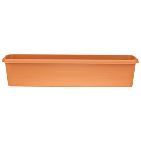 Stewart Garden Terrace Trough - 80cm - Terracotta (2064034)