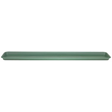 Stewart Garden Terrace Trough Tray - To Fit 80cm Pot - Green (2065019)