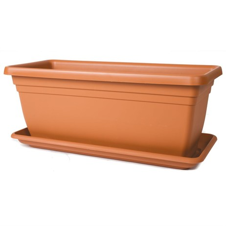 Stewart Garden Deep Trough - 80cm - Terracotta (2259034)