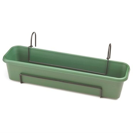 Stewart Garden Balcony Trough Set - 60cm - Green (4062019)