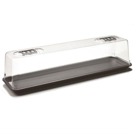 Stewart Garden Unheated Propagator (Window Sill Size) - 67cm - Black (2387000)