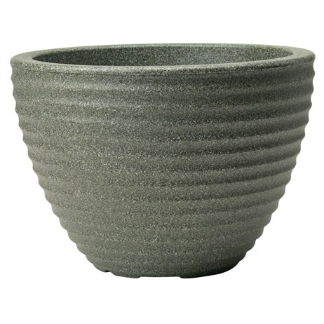 Stewart Garden Low Honey Pot - 37cm - Marble Green (5097063)