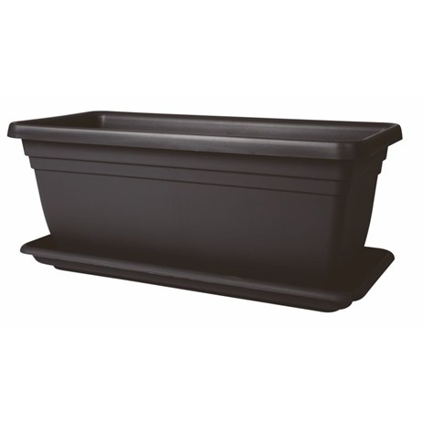 Stewart Garden Deep Trough - 80cm - Black (2259005)