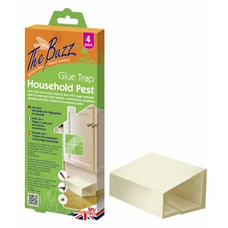 STV Household Pest Glue Traps (4 Pack) (STV983)