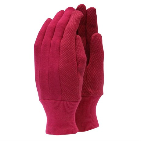 Town and Country Ladies Original Jersey Grip Gloves - Wine (TGL101)