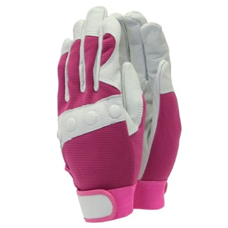 Town and Country Ladies Deluxe Comfort Fit Gloves - Pink - Small (TGL104S)