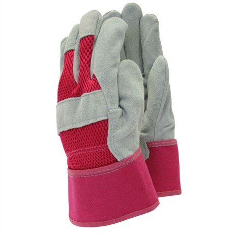 Town and Country Ladies Original All Rounder Rigger Gloves - Pink - Small (TGL106S)