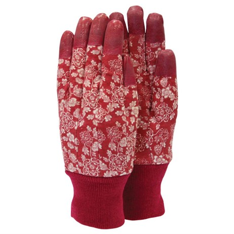 Town and Country Ladies Aquasure Tulip Gloves - Raspberry (TGL208)