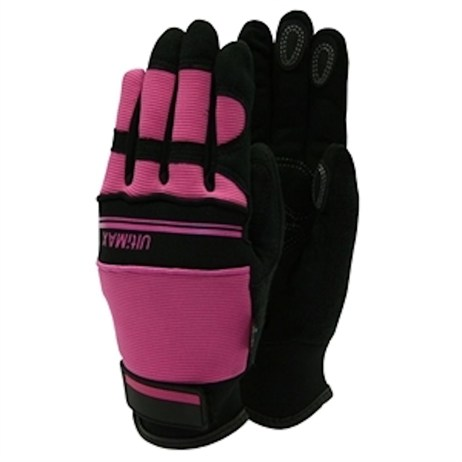 Town and Country Ladies Deluxe Ultimax Gloves - Pink - Medium (TGL223M)