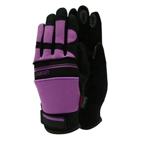 Town and Country Ladies Deluxe Ultimax Gloves - Purple - Small (TGL223S)