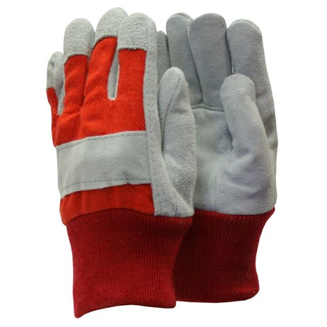Town and Country Kids Heavy Duty Gloves - Red (TGL304)