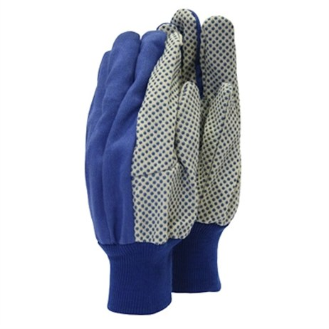 Town and Country Mens Original Dotted Canvas Grip Gloves (TGL404)