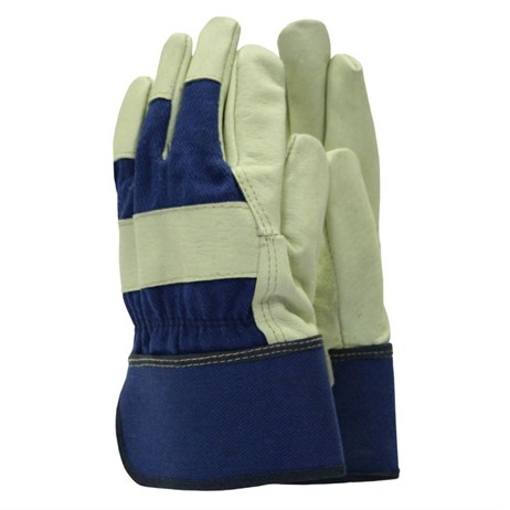Town and Country Mens Original Washable Leather Rigger Gloves (TGL416)