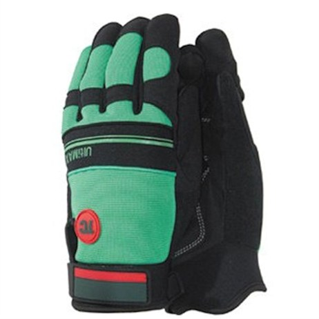 Town and Country Mens Deluxe Ultimax Gloves - Green - Medium (TGL435M)