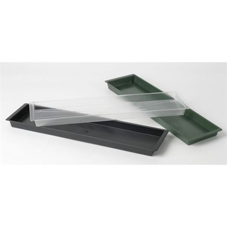 Oasis® Double Plastic Brick Tray - Black (4105)
