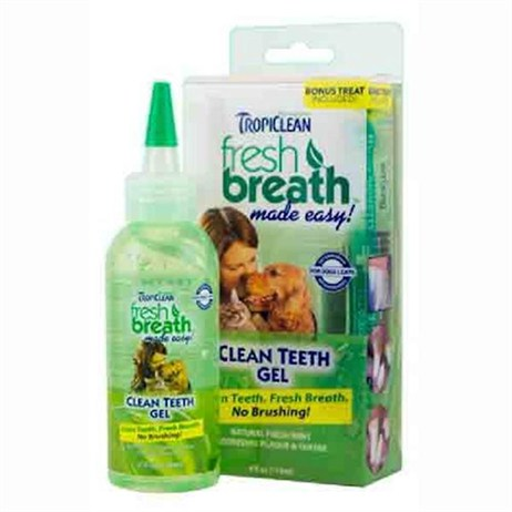 TropiClean Clean Teeth Gel For Cats and Dogs