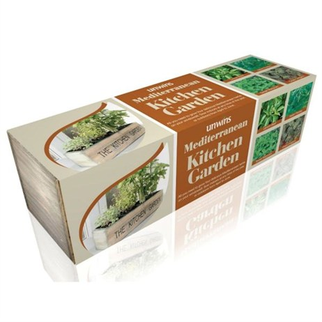 Unwins Mediterranean Kitchen Garden Kit