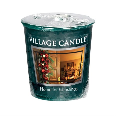 Village Candles - Home For Christmas Premuim Votive Christmas Candle (106102819)