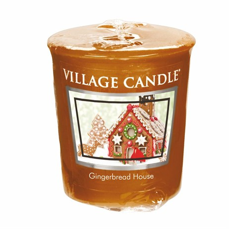 Village Candles - Gingerbread House Premuim Votive Christmas Candle (106102832)