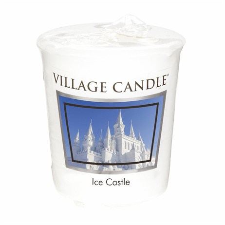 Village Candles - Ice Castle Premuim Votive Christmas Candle (106102839)
