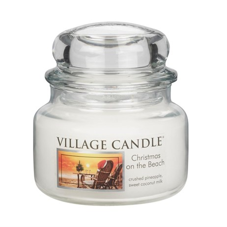 Village Candles - Christmas on the Beach Premuim 11oz Christmas Candle (106311005)