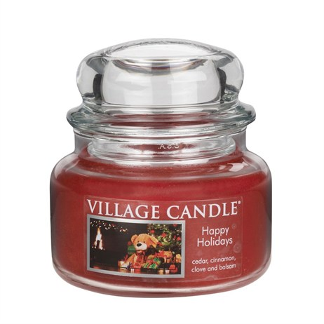 Village Candles - Happy Holidays Premuim 11oz Christmas Candle (106311356)