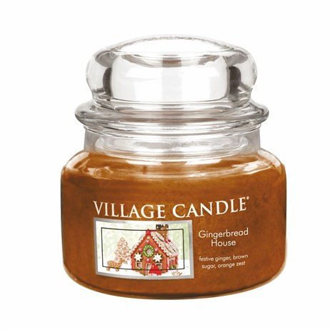 Village Candles - Gingerbread House Premuim 11oz Christmas Candle (106311832)
