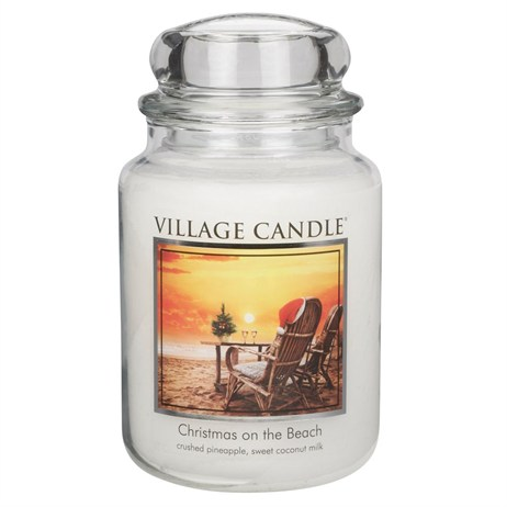 Village Candles - Christmas on the Beach Premuim 26oz Christmas Candle (106326005)