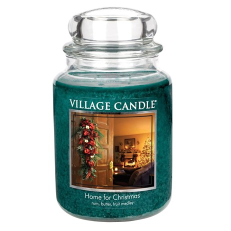 Village Candles - Home For Christmas Premuim 26oz Christmas Candle (106326819)