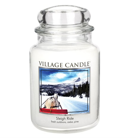 Village Candles - Sleigh Ride Premuim 26oz Christmas Candle (106326821)