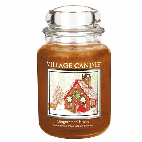 Village Candles - Gingerbread House Premuim 26oz Christmas Candle (106326832)